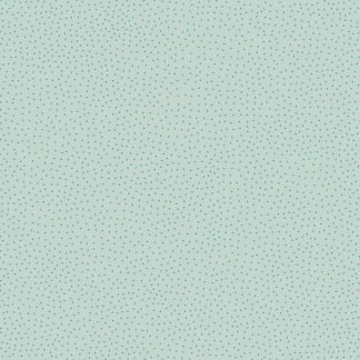 Lewis and Irene Forme Blue Dots on Duck Egg Blue Fabric, Bright Quilting