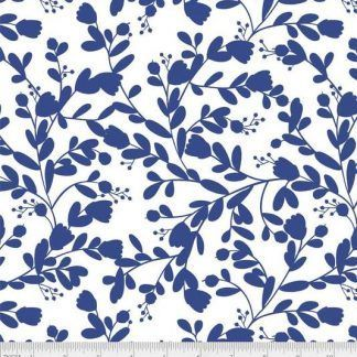 Bright blue Peppino fabric, Bright Qulting