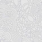 Alison Glass 2020 Sunprint Range Stitched Shadow, drawn designs on light grey, Bright Quilting
