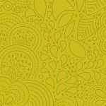Alison Glass 2020 Sunprint Range Stitched Chartreuse, drawn designs, Bright Quilting
