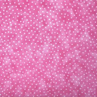 Craft Cotton Textured Spot Pink Fabric, Bright Quilting