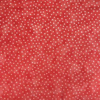 Craft Cotton Textured Spot Coral Fabric, Bright Quilting