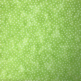 Craft Cotton Textured Spot Limeade Fabric, Bright Quilting