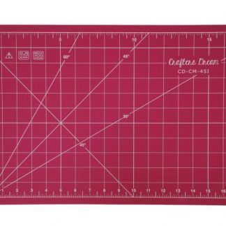 "Craft Cotton 24""x 18"" cutting mat in Pink, Bright Quilting"