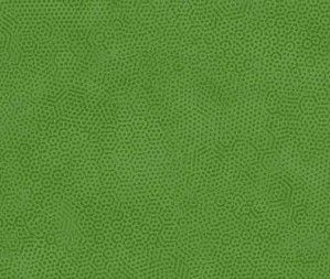 Green spotted blender fabric, Bright Quilting