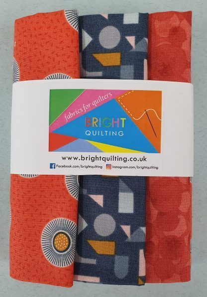 Lewis and Irene Forme Fat Quarter Bundle 3 Bright Quilting