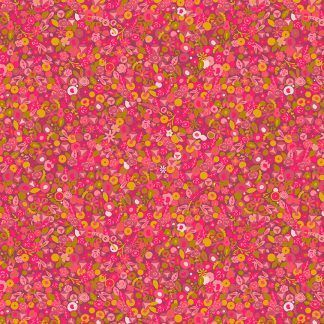 Alison Glass Sunprints 2021 fabrics Tuesday Cosmo Pink Multicolour fabric Bright Quilting