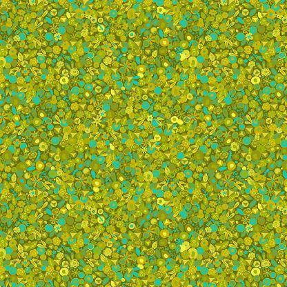 Alison Glass Sunprints 2021 fabrics Tuesday Moss Green Multicolour fabric Bright Quilting
