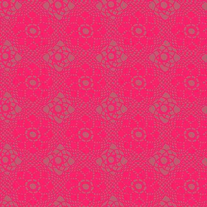 Alison Glass Sunprints 2021 fabrics Crochet Strawberry Bright Quilting