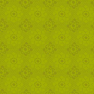 Alison Glass Sunprints 2021 fabrics Crochet Lawn Green fabric Bright Quilting