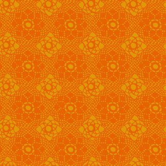 Alison Glass Sunprints 2021 fabrics Crochet Dala Orange fabricBright Quilting