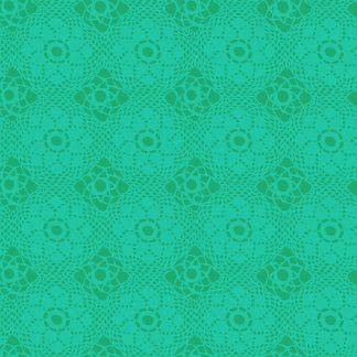 Alison Glass Sunprints 2021 fabrics Crochet Gulf Turquoise fabric Bright Quilting