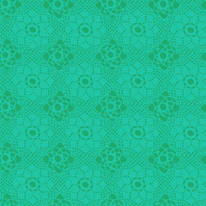 Alison Glass Sunprints 2021 fabrics Crochet Gulf Turquoise fabric Bright Quilting