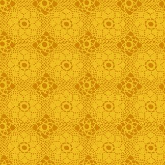 Alison Glass Sunprints 2021 fabrics Crochet Sunshine Yellow fabric Bright Quilting