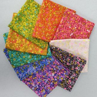 Alison Glass Sunprints 2021 Tuesday 9 fat quarter Bundle Bright Quilting