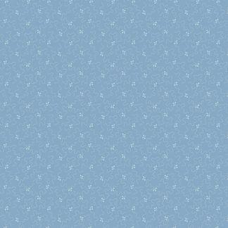 Andover Tonal Ditzy Blue Indigo Light Blue and White Bright Quilting