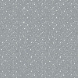 Andover Tonal Ditzy River Rock Light Grey and White Bright Quilting