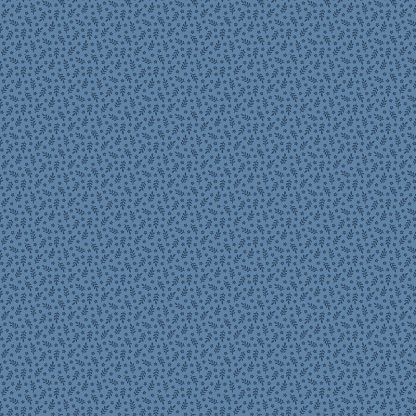 Andover Tonal Ditzy Dark and Sky Blue Bright Quilting
