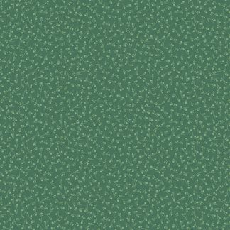 Andover Tonal Ditzy Forest Dark Green Background with Pale Green Ditzy pattern Bright Quilting