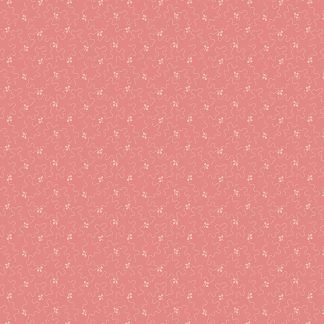 Andover Tonal Ditzy Rouge Mid Pink Background with Off White Ditzy pattern Bright Quilting