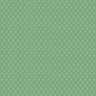 Andover Tonal Ditzy Forest Light Green Background with Off White Ditzy pattern Bright Quilting